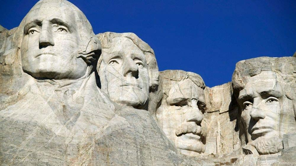 Mount Rushmore is an example of a subtractive sculpture.