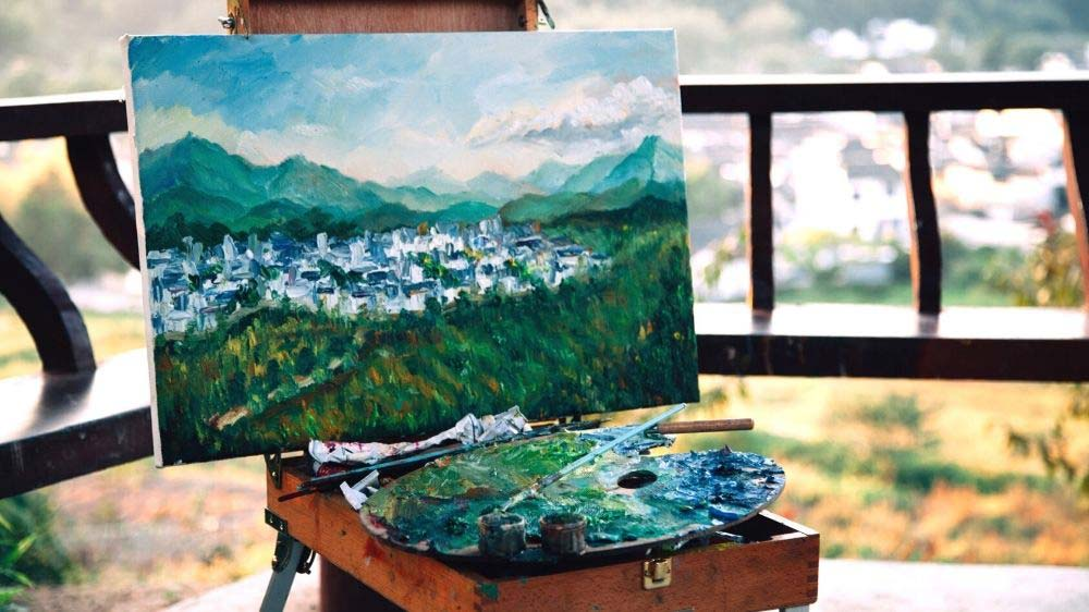 Can oil paintings melt in the heat?